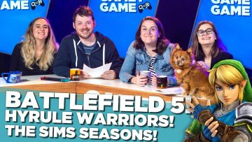 Battlefield 5! Hyrule Warriors! The Sims Seasons! | Gamey Gamey Game