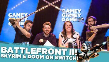 Battlefront II! Skyrim & Doom on Switch!
