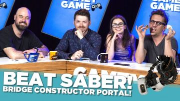 Beat Saber! Bridge Constructor Portal!