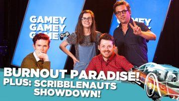 Burnout Paradise Remastered! Scribblenauts Showdown!