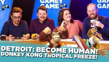 Donkey Kong! Detroit: Become Human!