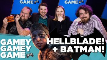 Hellblade! Batman: The Enemy Within!