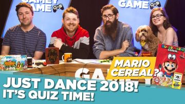 Just Dance 2018! It's Quiz Time! Mario Cereal?
