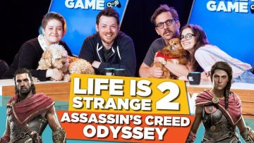 Life is Strange 2! Assassin's Creed Odyssey!   Gamey Gamey Game