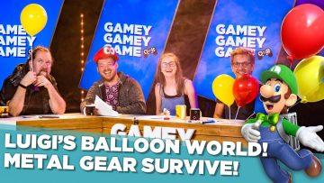 Luigi's Balloon World! Metal Gear Survive!