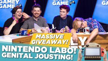 Nintendo Labo! Genital Jousting!