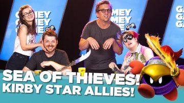 Sea of Thieves! Kirby Star Allies!