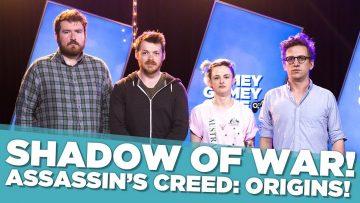 Shadow of War! Assassin's Creed: Origins!