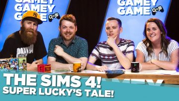 Super Lucky's Tale! The Sims 4!