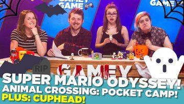 Super Mario Odyssey! Cuphead! Animal Crossing: Pocket Camp!