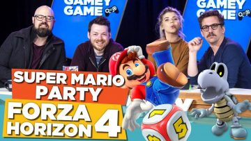Super Mario Party! Forza Horizon 4! | Gamey Gamey Game