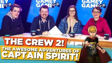 The Crew 2! The Awesome Adventures of Captain Spirit! | Gamey Gamey Game